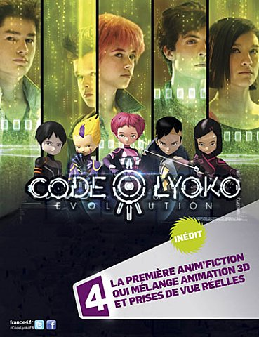 Affiche Code Lyoko Evolution sur France 4