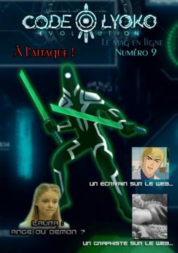 Couverture du numéro 9 du mag' en ligne Code Lyoko