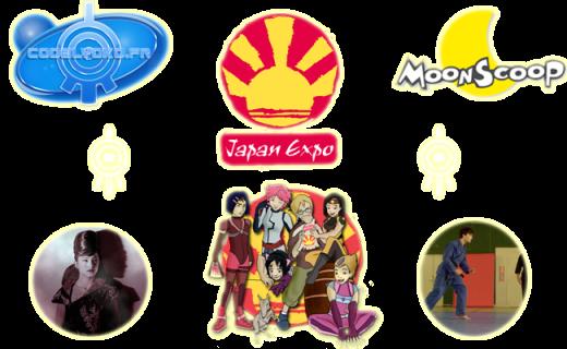 Bannière spéciale Code Lyoko pour la Japan Expo