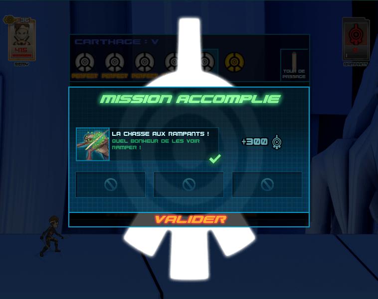Capture Mission accomplie dans le jeu Code Lyoko