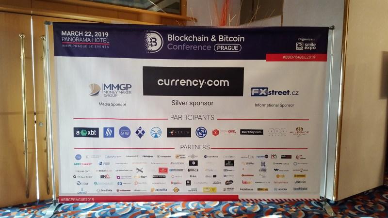 Live Update From Prague Blockchain Conference