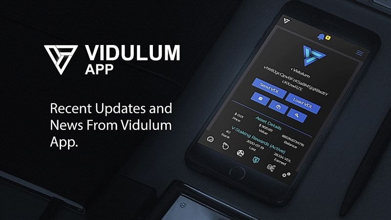 Recent Updates and News From Vidulum App