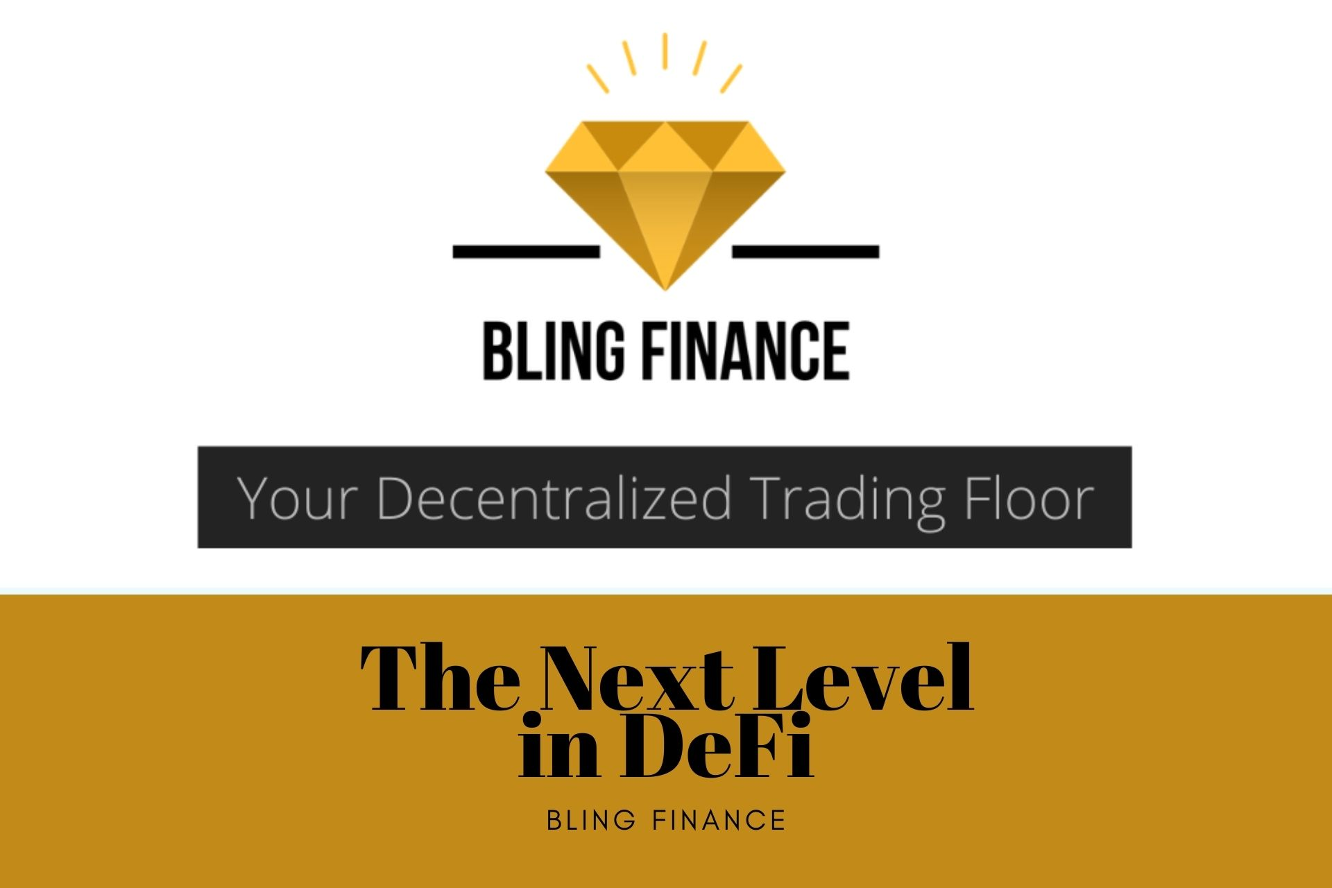 BlingFinance – Taking Decentralization to The Next Level in DeFi