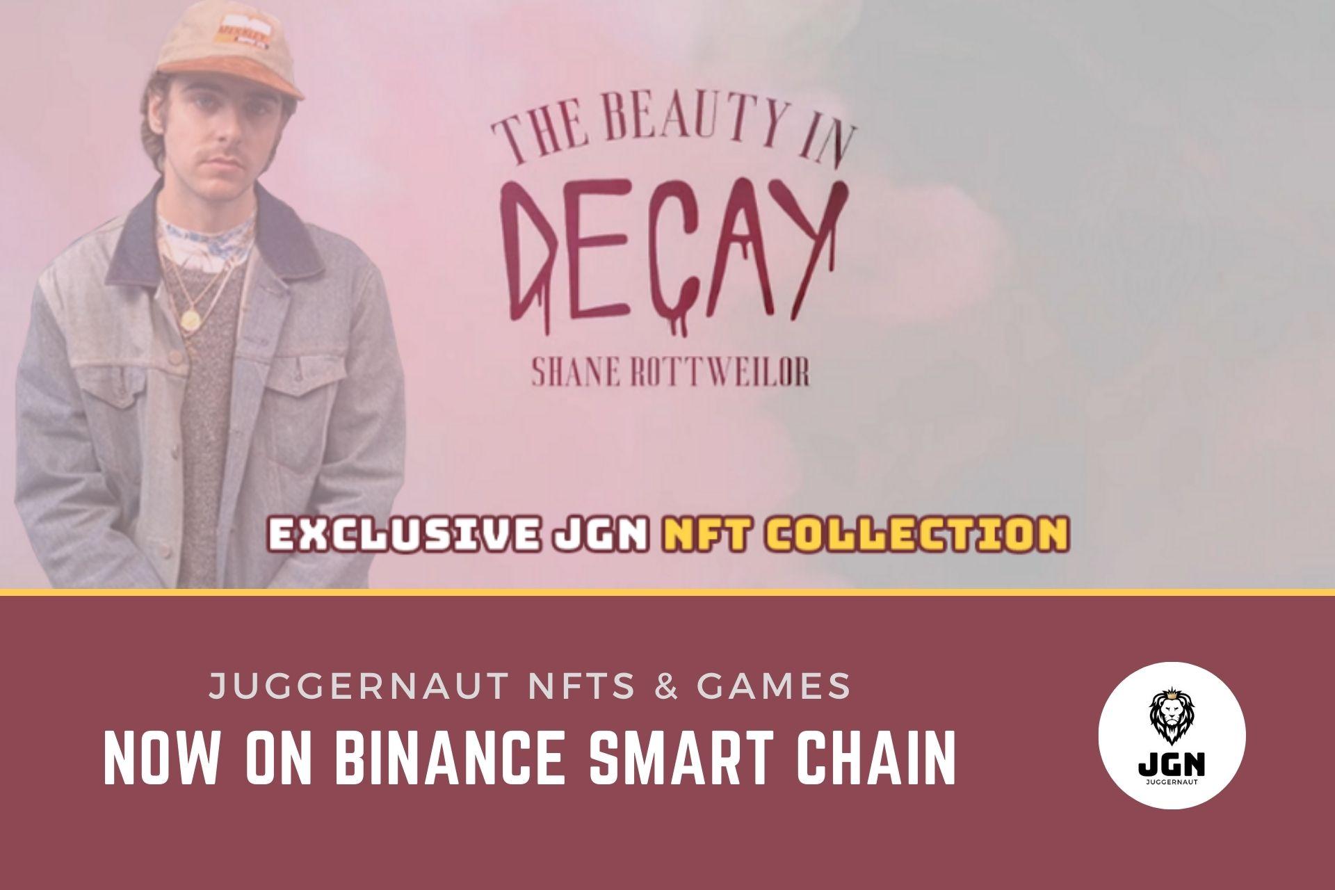 Juggernaut NFTs & Games Now on Binance Smart Chain (BSC)