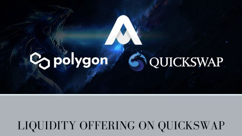 AGA and Polygon Announced Liquidity Offering on QuickSwap