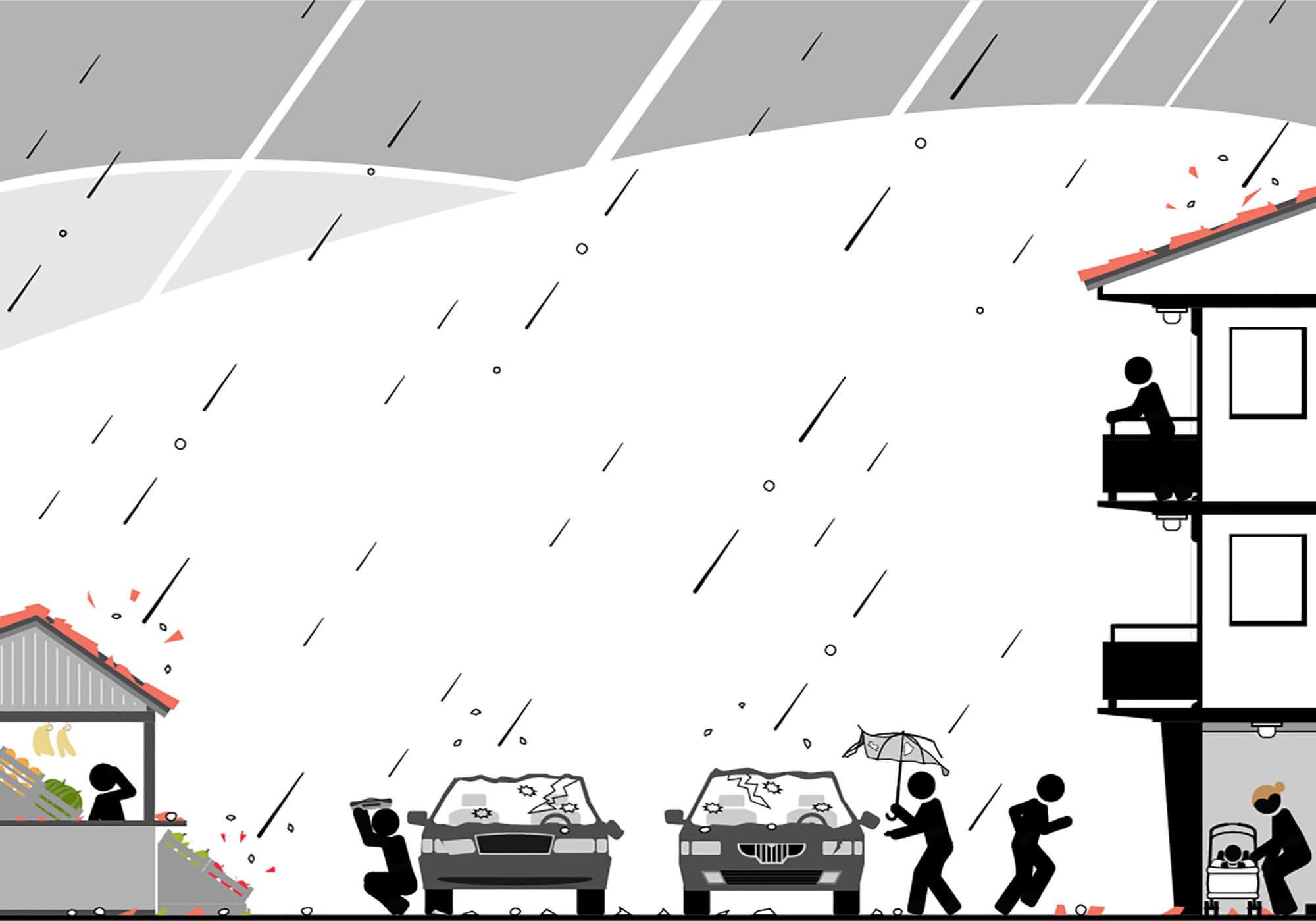 Hailstorm, Colorado the Hail Capital