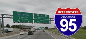 photo of I-95 highway in Delaware