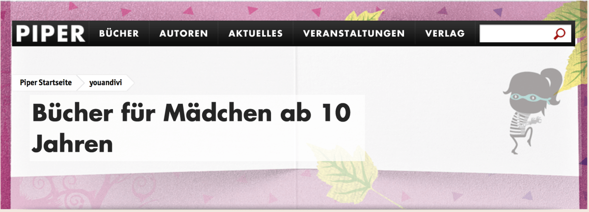 Piper launcht neues Jugendbuch-Label You&Ivi