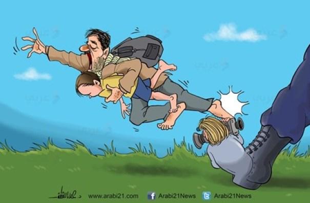 صحافة الغرب واللاجئون السوريون