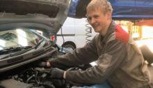 Danish mechanic apprentice Jacob Nørgaard
