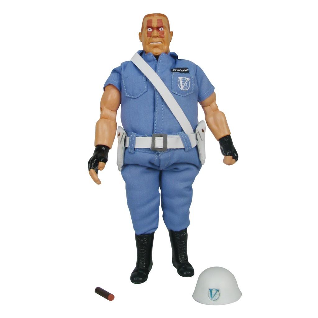 The Venture Bros Sgt Hatred And HELPeR Figures Set