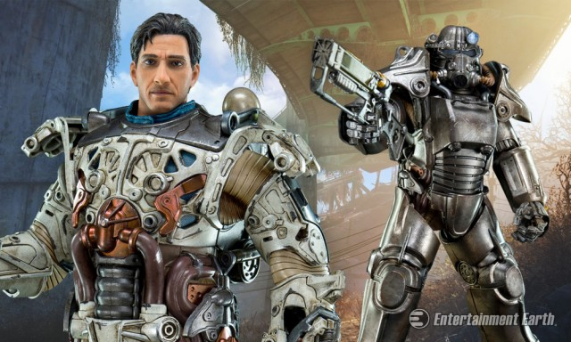 Fallout 4s T 45 Power Armor Action Figure Protects You In
