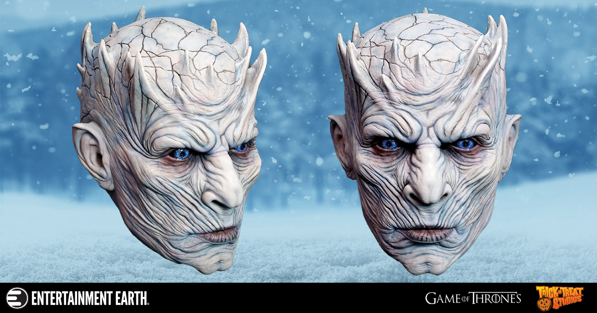 The Terrifying Leader Of The White Walkers In Mask Form