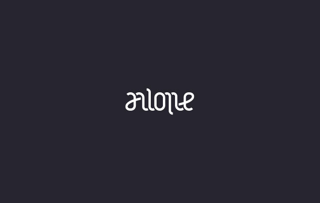Alone Ambigram by Mistershot
