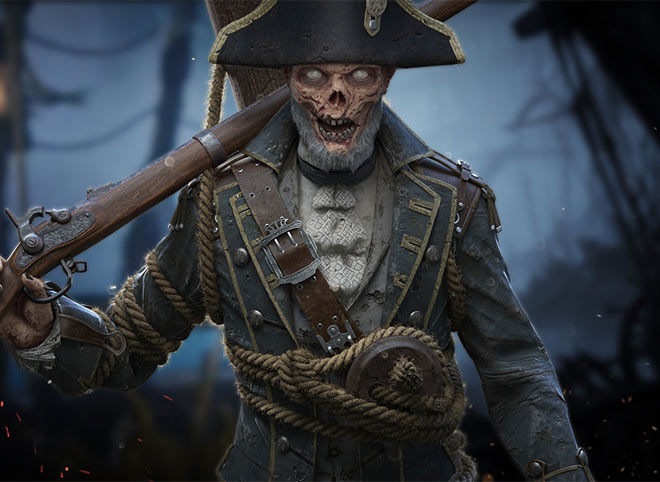 Old Pirate Zombio by Driell Gomes