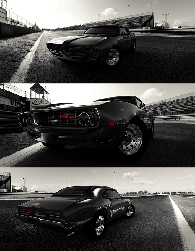 Pontiac Firebird Blackbird GT Edition by Simon Waloszek