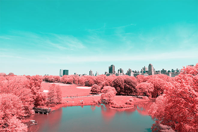 Infrared NYC by Paolo Pettigiani