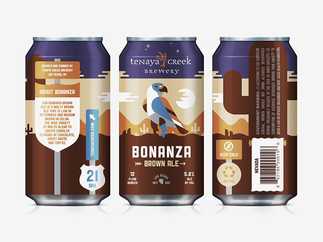 Bonanza Brown Ale by Kendrick Kidd