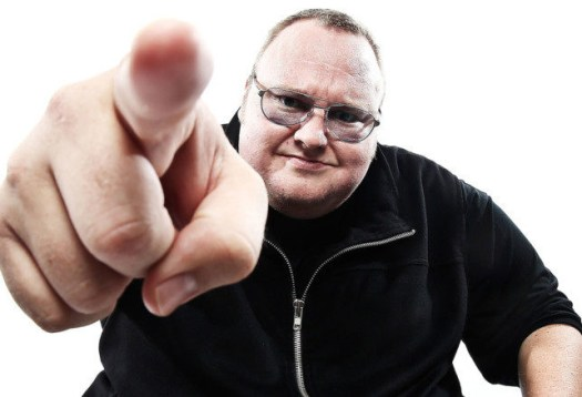 """New Zealand Court Rules Kim """"Megaupload"""" Dotcom Can Be Extradited To US On Copyright Charges."""