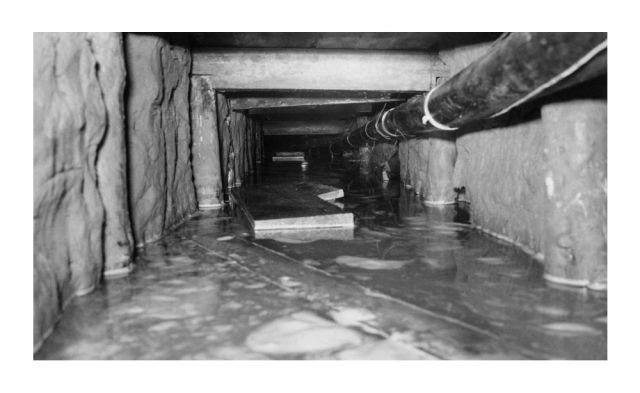 The original Tunnel 29 during the leak