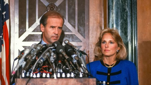 Biden with his wife Jill