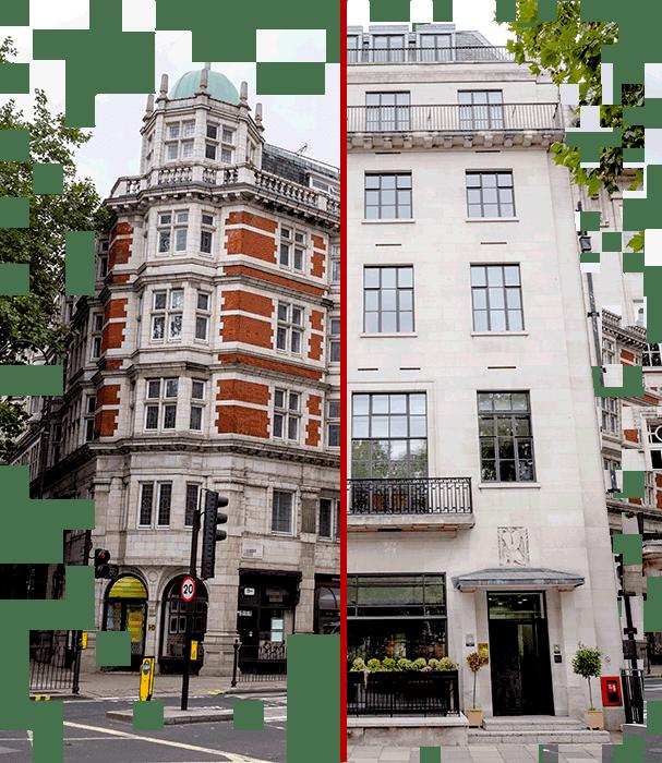Photos of properties in London