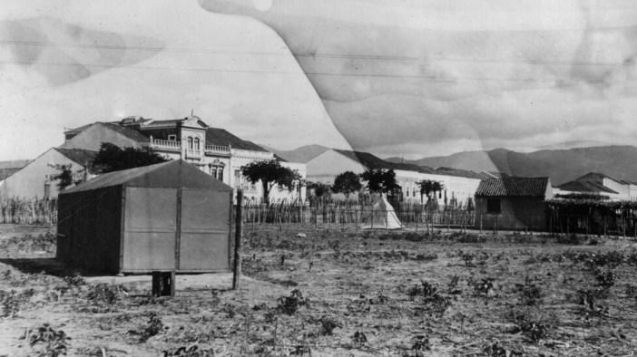 Los científicos montaron su campamento de observación en el hipódromo de Sobral. Foto: Instituto de Ciencia Carnegie, Departmento de MagnetismoTerrestre.