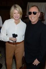 Martha Stewart and Michael Kors