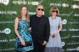 Hilary Swank, Michael Kors, and Anna Wintour