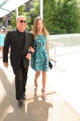 Michael Kors and Hilary Swank