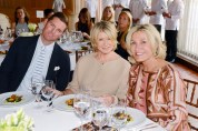 Douglas Hand, Martha Stewart, and Susan Magrino