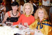 Amy Fine Collins, Lynn Wyatt, and Aileen Mehle