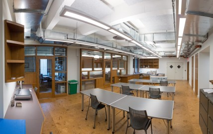 newly renovated study space in FIT Special Collections