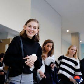 Students at SUNY Korea