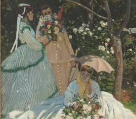 Claude Monet, Women in the Garden, 1866 (Musée d'Orsay).