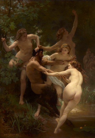 Bouguereau Nymphs