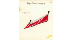 illustration of a red shoe