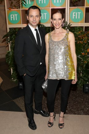 Laurent Claquin and Vanessa Friedman (Photo: Bennett Raglin/Getty Images for FIT)