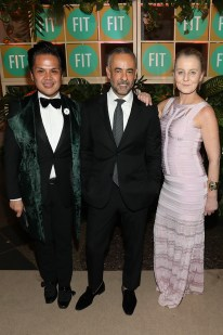 B.J. Pascual, Francisco Costa, and Michelle Levy (Photo: Bennett Raglin/Getty Images for FIT)