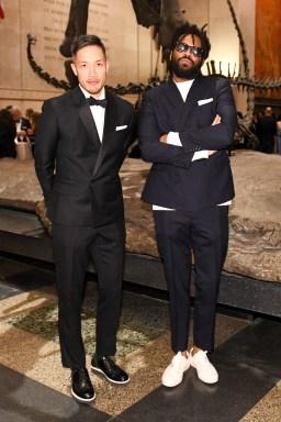 Dao-Yi Chow and Maxwell Osborne of the menswear label Public School. (Photo: BFA for FIT)