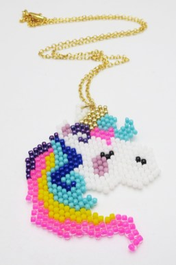 Jewels for Hope's Unicorn Necklace.