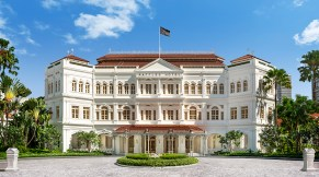 Raffles Hotel, Singapore.