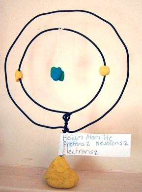 Helium sculpture
