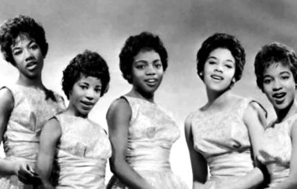 The Chantels in 1957. White is in the center.