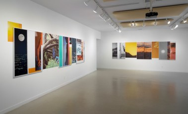 """gallery view of Pacifico Silano's exhibition """"Cowboys Don't Shoot Straight (Like They Used To)"""""""