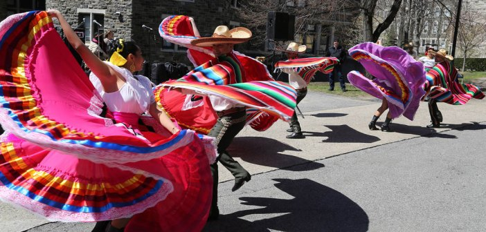Marzarte Dance Company performs at the Second Annual Bronx Celebration Day.