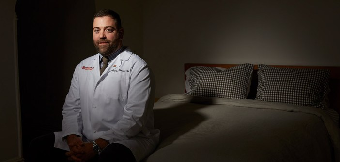 Dr. Daniel Barone is author of Let's Talk About Sleep, a book about the science of sleep and how we can improve our slumber.