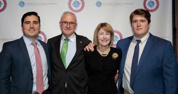 Brian, Berney, Peggy, and Pierce Smyth