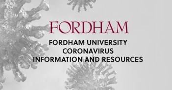 FORDHAM Fordham University coronavirus information and resources.