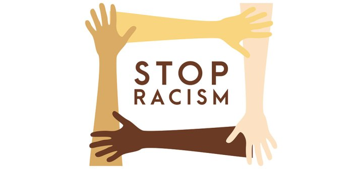 stop racism graphic